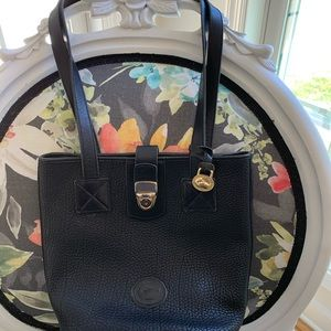 Dooney & Bourke black small bucket bag. Vintage